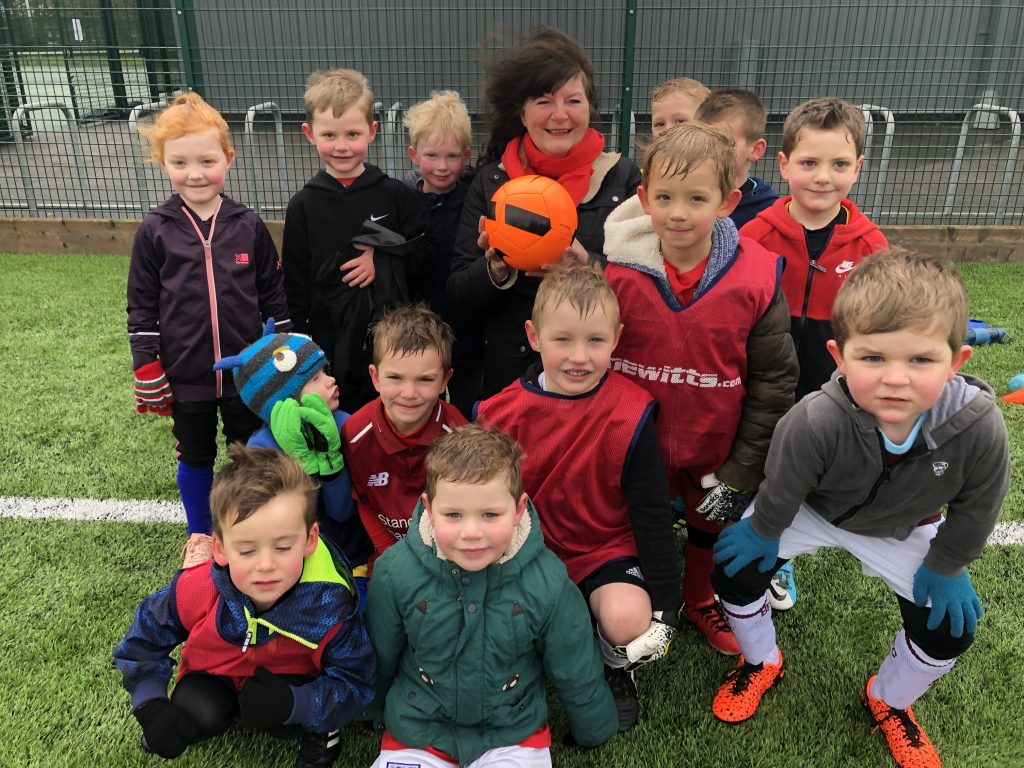Apple Tree Care Home sponsors Strensall Tigers Under 5s